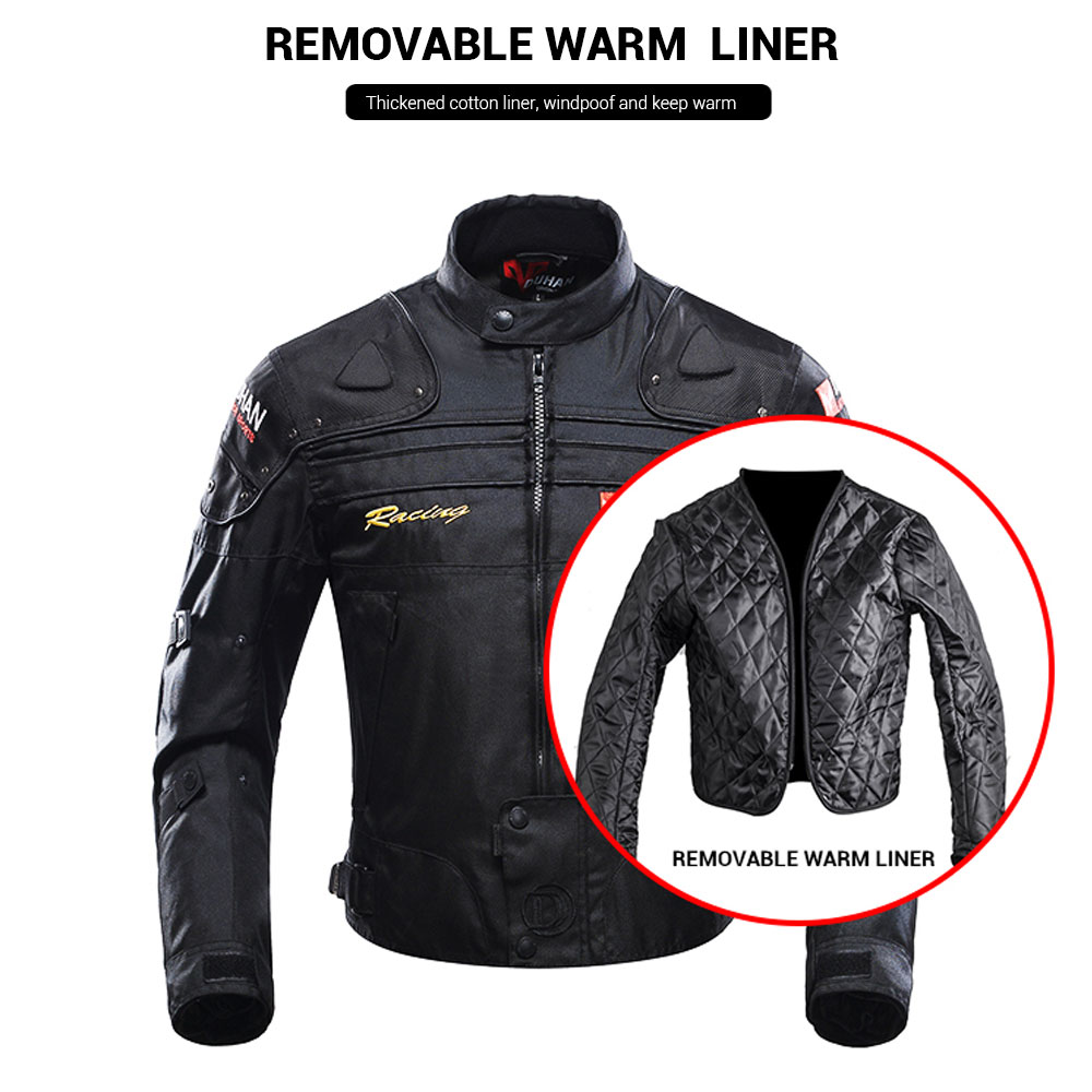 Image 3 - DUHAN Motorcycle Jacket Protective Gear Moto Men Motocross Off Road Racing Jacket Body Armor+ Riding Pants Clothing Set-in Jackets from Automobiles & Motorcycles