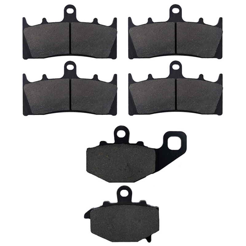 AHL Motorcycle Front and Rear Brake Pads For KAWASAKI ZX 6R (G/J) ZX-9R ZX 600 ZZR 600 ZX-9R B3/B4 Ninja ZX 900 C/E/F brake pads ceramic for kawasaki zzr 600 zx 600 e6f 2006 2008 rear oem new zpmoto high quality