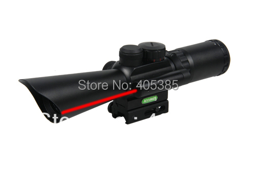 NEW Tactical Gun Air Sot M8 Shooting Hunting Riflescope 3.5-10x40 Rifle Scope Sniper Optical Scopes With Red Laser Light cj78l05 78l05 sot 89