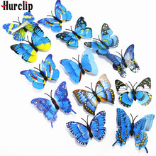 5 Multiple Color Easter decoration women girls hairpins 3D Double butterfly for girl hair clip Boutique Hair Accessories
