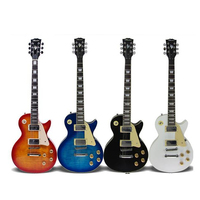 New Electric Guitar Set Classic LP Guitar With Speaker Effect Device IP Electronic Full Closed Knob Rosewood 4 Color D005