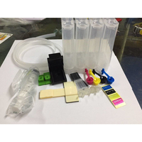4Color Universal DIY CISS Kit Continuous Ink Supply System With Accessaries Ink Tank For Canon Epson