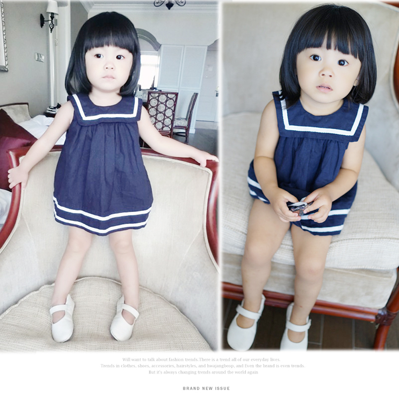 Free shipping fashion 2015 Baby Clothing Girls Dresses Cotton vest dress princess dress girls dresses