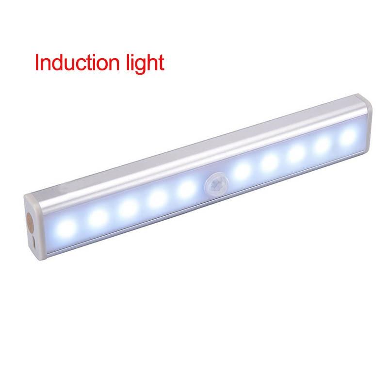 Индукционная лампа для дома, креативная Индукционная лампа для гардероба/лестницы/выставочного зала/коридора/школы, маленький светодиодный ночник, Новинка - Цвет: Induction light