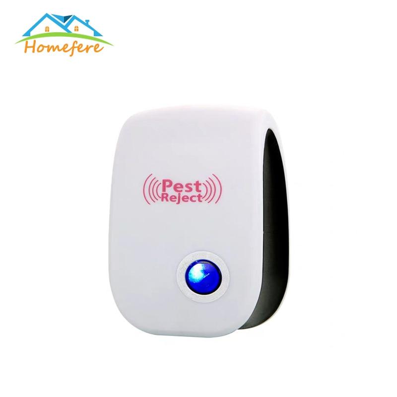 Electronic Ultrasonic Pest Repellers Anti Mosquito Insect Repeller Mouse Pest Reject Repellent Enhanced Version EU/US/UK/AU Plug