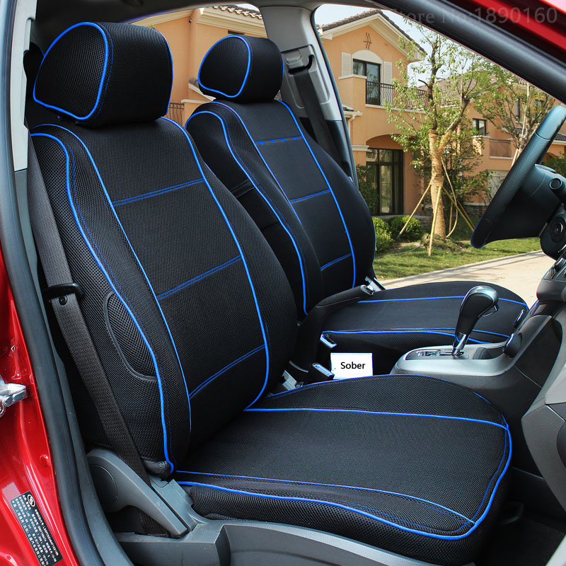 high quality front rear car seat covers for honda crv civic accord fit element freed life zest. Black Bedroom Furniture Sets. Home Design Ideas