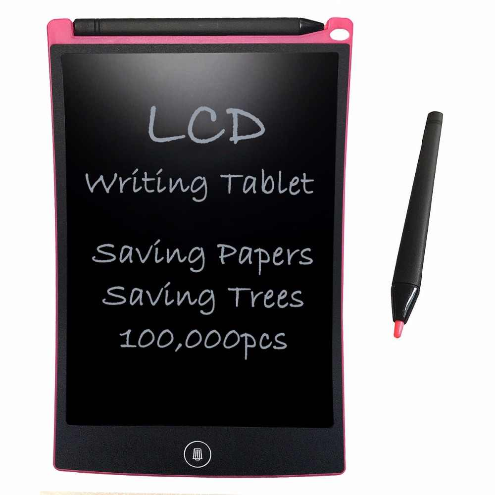 8.5'' Pink LCD Writing Tablet Digital Drawing Graphic Tablets Electronic Handwriting Pad Board With Stylus Pen for Kids toys