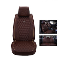 2018 New luxury Automobiles Seat Covers 5 car seat cushion for Renault Duster Scenic Clio Megane Laguna Espace Sandero styling