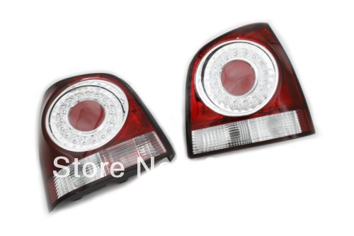 Cherry Red LED Tail Light For VW Volkswagen Polo 9N3 secret key chubby jelly tint pack cherry red цвет cherry red variant hex name df140d