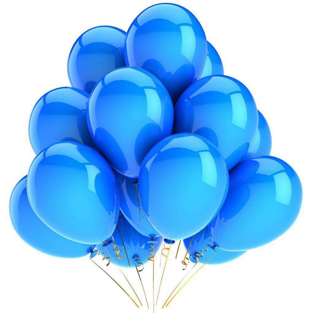 10Pcs 12inch Glossy Metal Pearl Latex Colorful Balloons For Birthday Party And Wedding 2