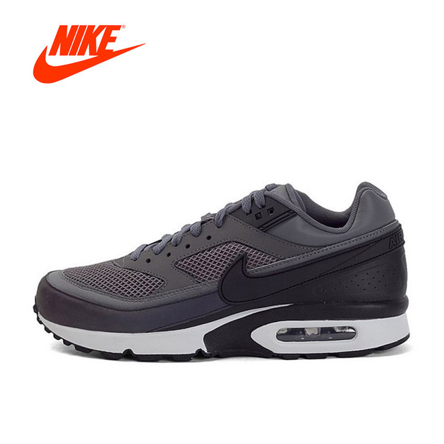 Original New Arrival Authentic Nike Air Max BW 3M Dark Grey Men's  Breathable Running Shoes Sports