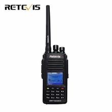 Radio DMR Digital RT8 IP67 A Prueba de agua Walkie Talkie Retevis UHF 400-480 Mhz 5 W HF Transceptor de Radio-Aficionado comunicador A9115