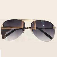 Pilot Sunglasses Men Brand Designer High Quality Double Bridge Sun Glasses UV400 Oculos De So Masculino Female Eyewear