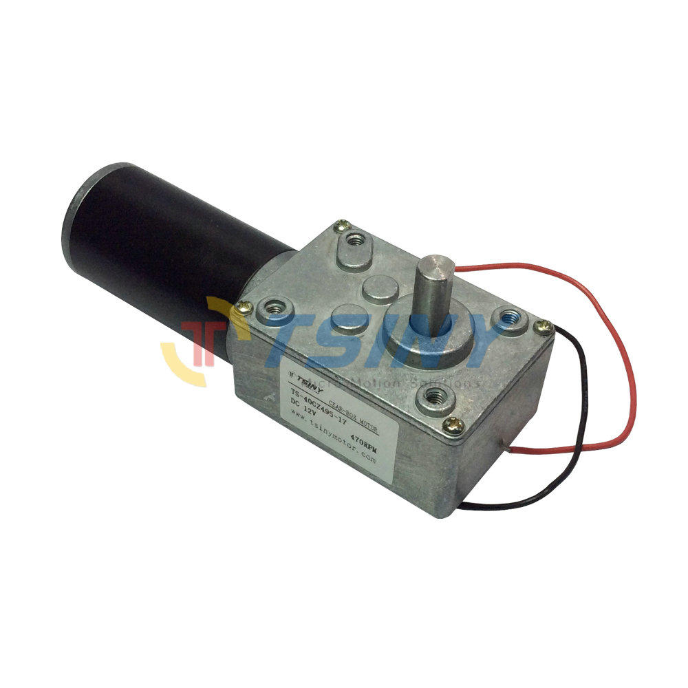 Buy Dc Electrical Worm Gear Motor 12v