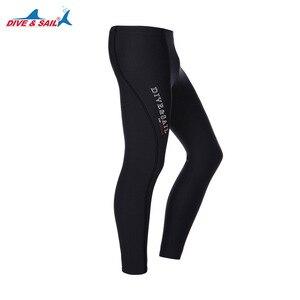 Image 1 - Dive&Sail 3mm neoprene diving pants Scuba Snorkeling Winter Warm Wetsuit Trousers Long Pants