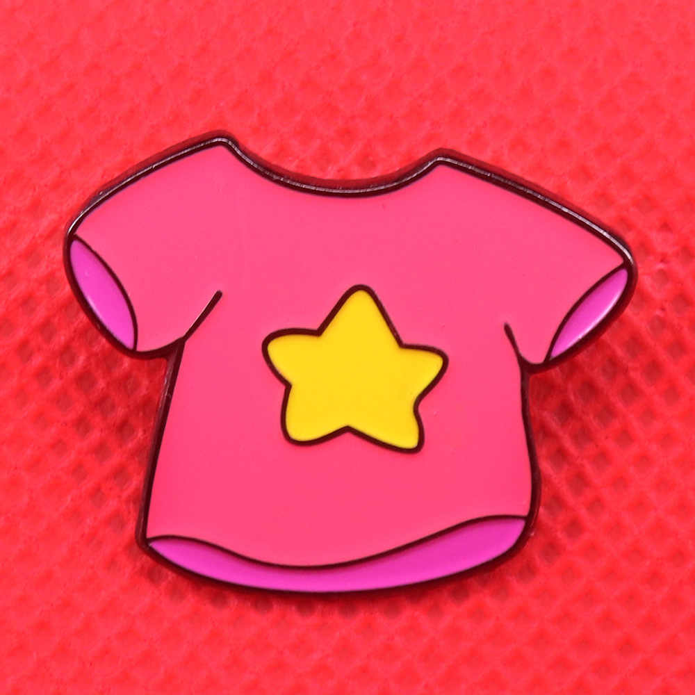 Steven Universe Emaille Pin Magical Gem Jassen Badge Leuke Cartoon Broche Adventure Sieraden Vrouwen Shirt Jassen Accessoires Geschenken