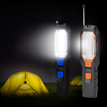 Portable USB Rechargeable 4 Mode COB LED Rotatable Antenna Work Light Inspection Flashlight Magnet Movable Lamp