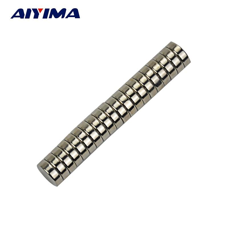 AIYIMA 20pcs neodymium magnet 12 x 4mm high performance rare-earth permanent Powerful strongmagnet