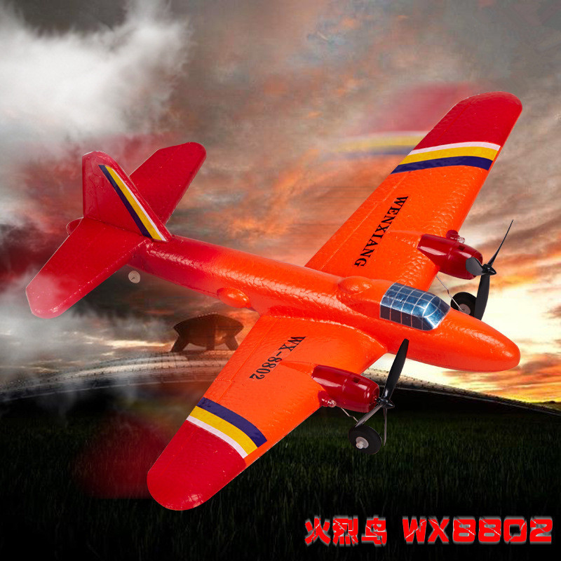 50cm large  fixed wing rc glider ws8802 Flamingo Foam Remote Control RC Plane 150m Control  aircraft model EPP kids Boy toys f2s flight control with m8n gps t plug xt60 galvanometer for fpv rc fixed wing aircraft