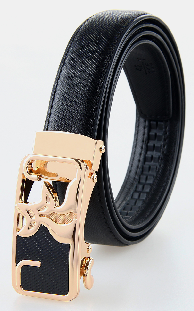 Durable Automatic Buckle Woman Belt Blacs
