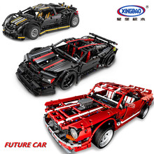 XINGBAO 07001/07002/07003 Creative Technic Car Series 3 Styles The Future Building Blocks Bricks Compatible Legoings
