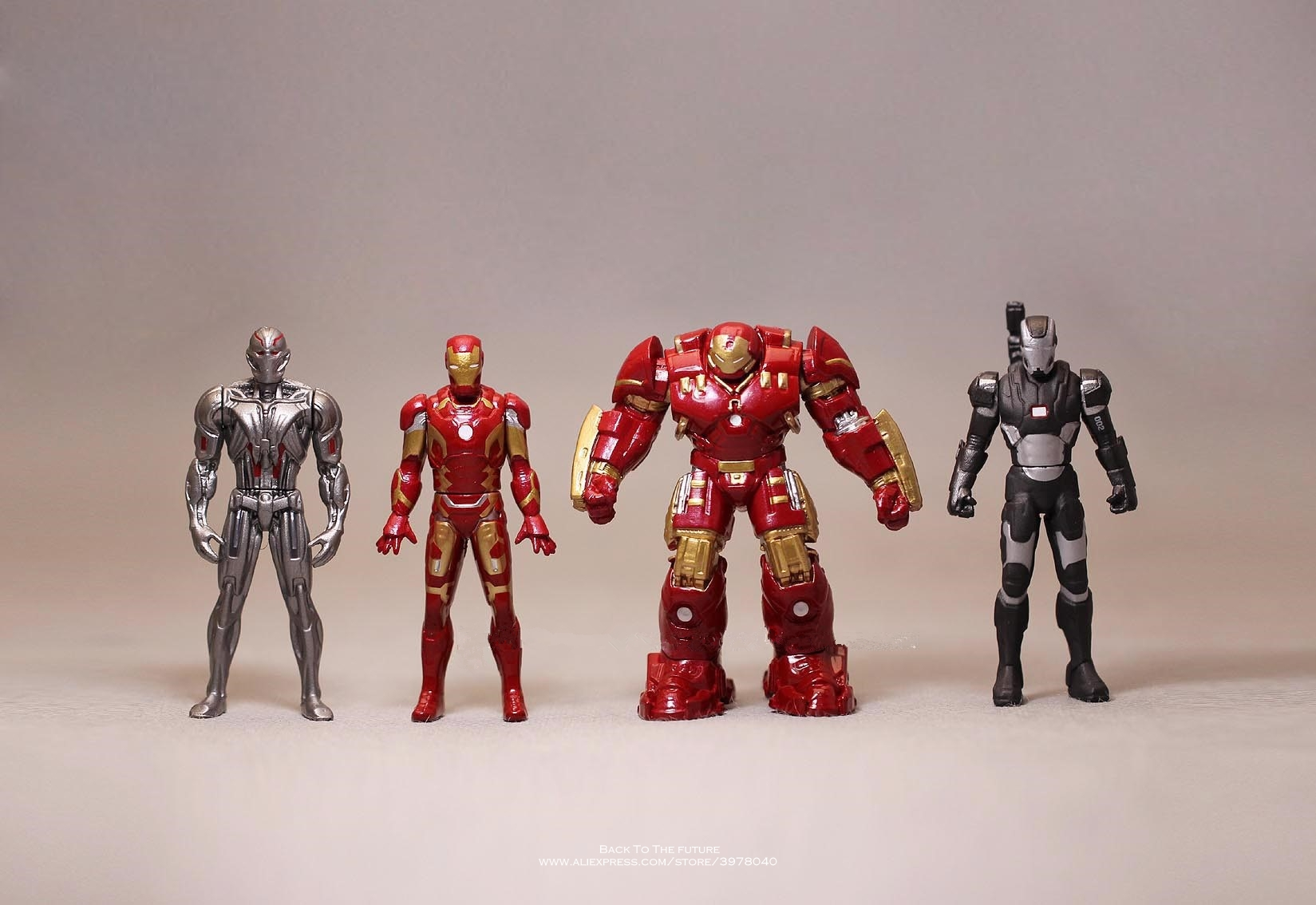 Disney Marvel Avengers Iron Man 3 Ultron 5-6cm metal Action Figure Anime Mini Decoration PVC Collection Figurine Toy model gift цена