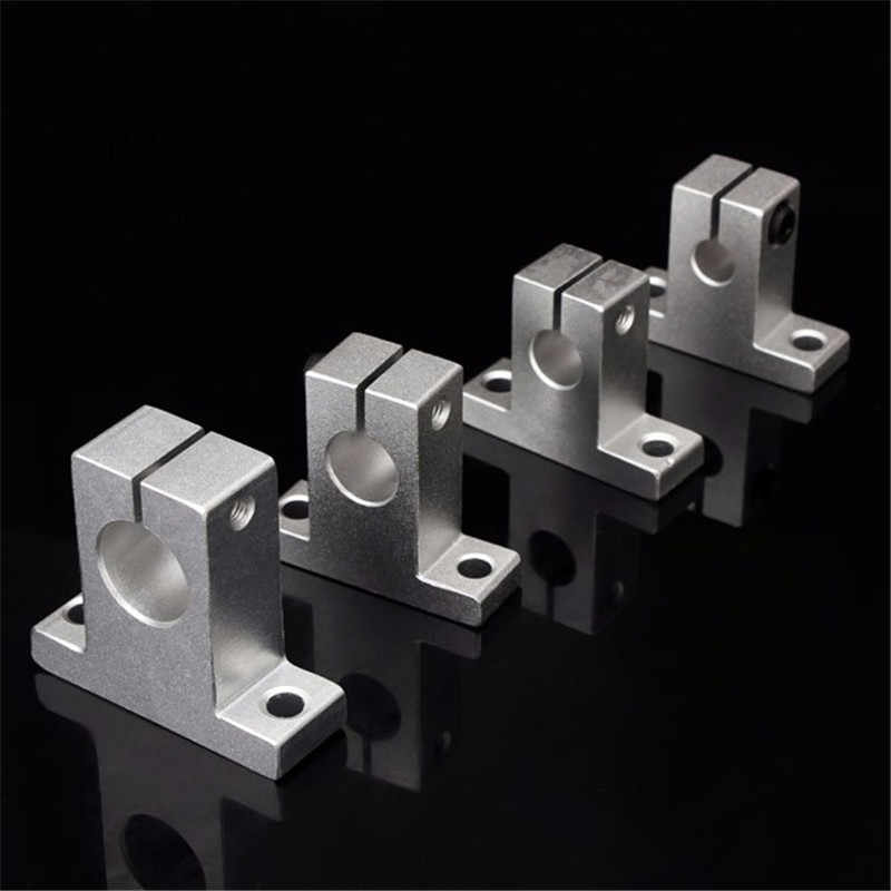 SK8/10/12/16 سبائك الألومنيوم رمح خطي السكك الحديدية دعم XYZ الجدول CNC راوتر ل 3D طابعة أجزاء اكسسوارات دائم