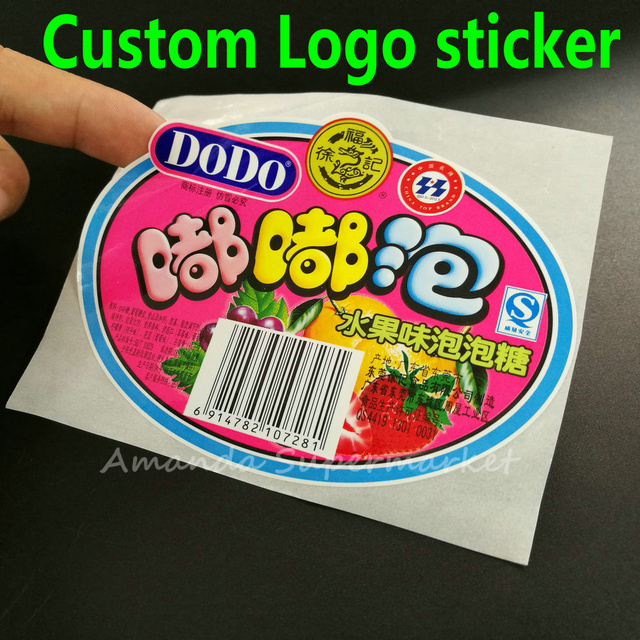 Custom label sticker order we accept all kind of label sticker logo text serial numbers