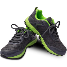 Sports shoes Running Students running Rubber Air mesh Comfortable anti – skid absorb sweat Breathable Outdoor Shoes