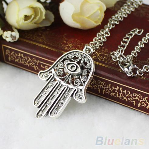 Of Protection Chain Fatima Pendant Symbol Womens Necklace Hamsa Evil Hand