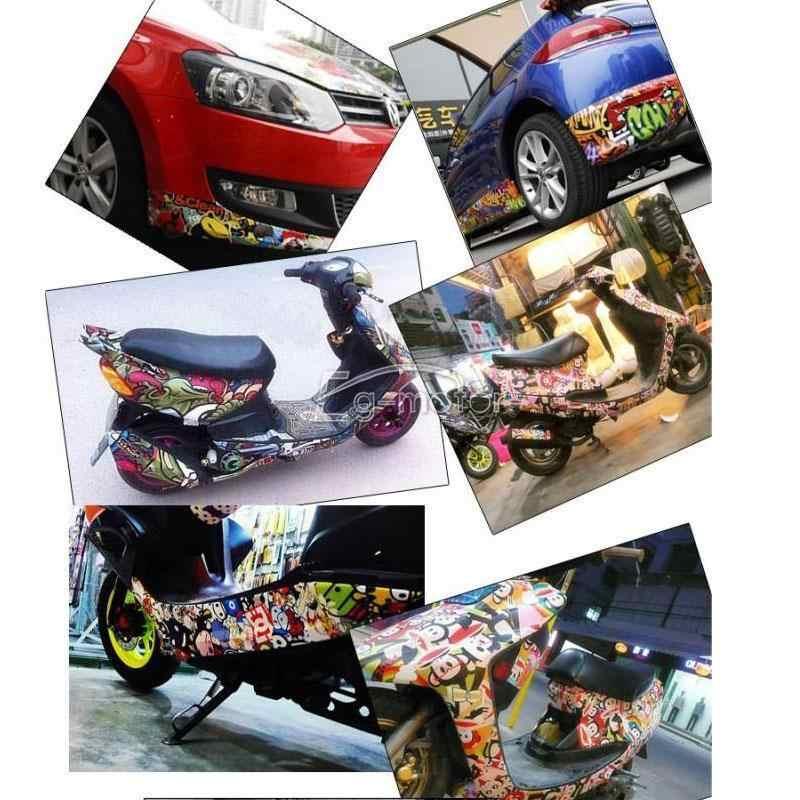 150x50 см мультфильм стикер бомба обертывание лист наклейка пленка подходит Мотоцикл Авто мобильный телефон ноутбук настенный чемодан скутер...
