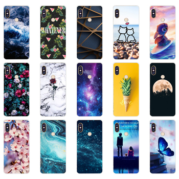 N silicone case For 5.99 inch Xiaomi Redmi Note 5 global pro Case Cover redmi note 5 Snapdragon 636 version note5 pro case image
