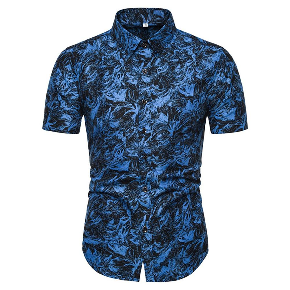 Camicia Uomo Summer Hawaiian Shirt Male Casual Camisa Masculina Printed Fashion Beach Short Sleeve Top Shirt Hot Sale Plus Size