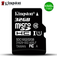 Kingston Class10 Micro Sd Card 32GB Memory Card Mini Sd Card32GB SDHC TF Card For Sony