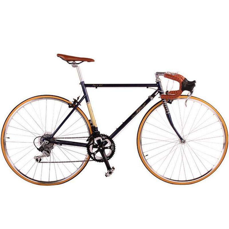 Route vélo fixie vélo 700C vintage Pignon Fixe vélo Piste 14 vitesses Vélo De route