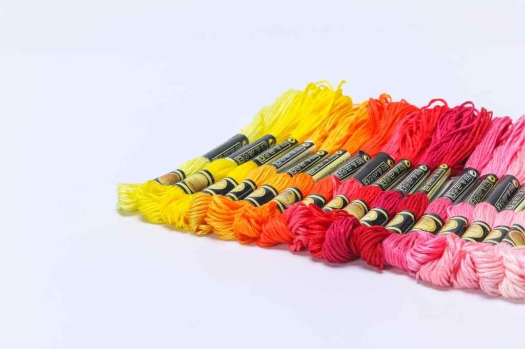عبر غرزة المواضيع اثنين التسمية cxc نمط 10 قطعة عبر غرزة القطن التطريز الخيط الخياطة Skeins الحرفية الألوان 9-7
