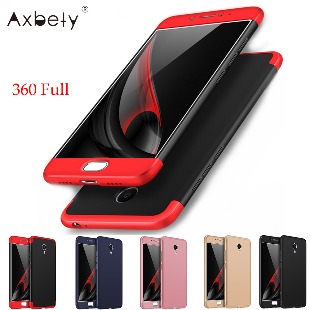 AXBETY For Meizu m6 Note Cass Full Protect Cover Ultra Thin Hard Hybrid Plastic Cases For Meizu M6 Note Case For Meizu M5 Note