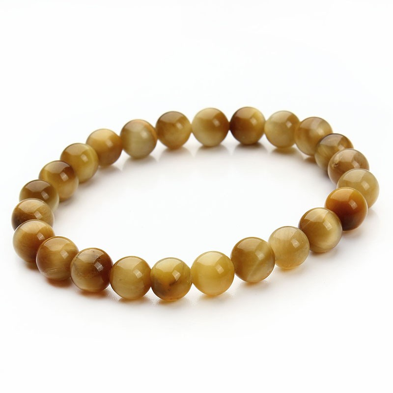 17 New Summer Style Natural Stone Beads Bracelet Women Men Pink Blue White Yellow Red Beaded Stretch Bracelets Bangles F2852 19