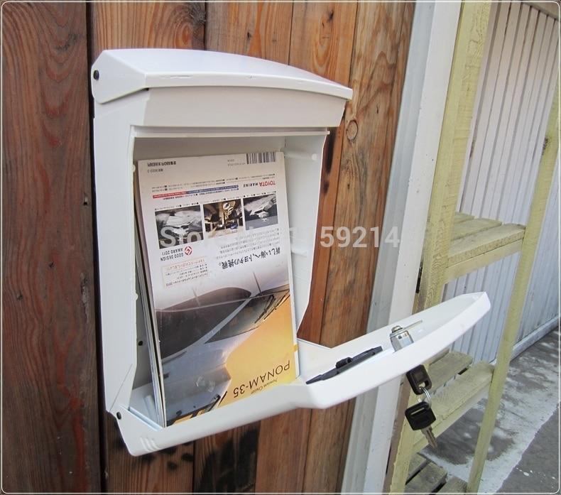 Сад почтовый ящик алюминиевый сплав letter box