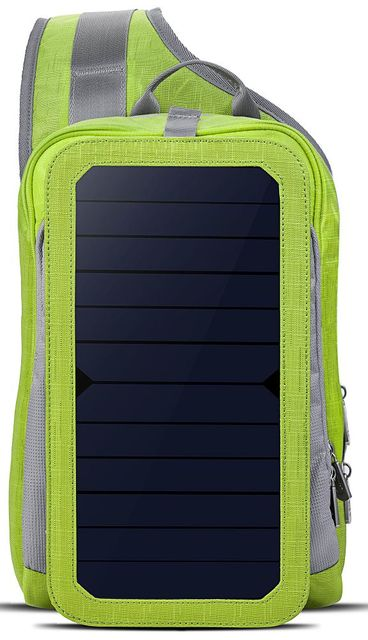 Sling Solar Powered Shoulder Bag