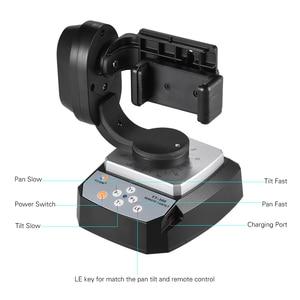 Image 3 - ZIFON YT 500 A Distanza di Controllo Pan Tilt Auto Motorizzato Rotante Video Testa Treppiedi Stabilizzatore per Smartphone Treppiedi Staffe e Supporti