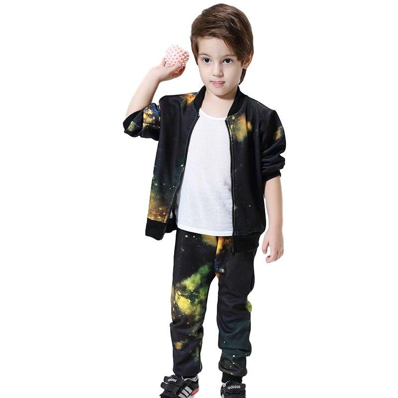 2016 High Toddler Boys Clothing Set Autumn Sport Suit Sale Baby Kids Clothes Boys Tracksuit Boutique Roupas Infantis Menino стоимость
