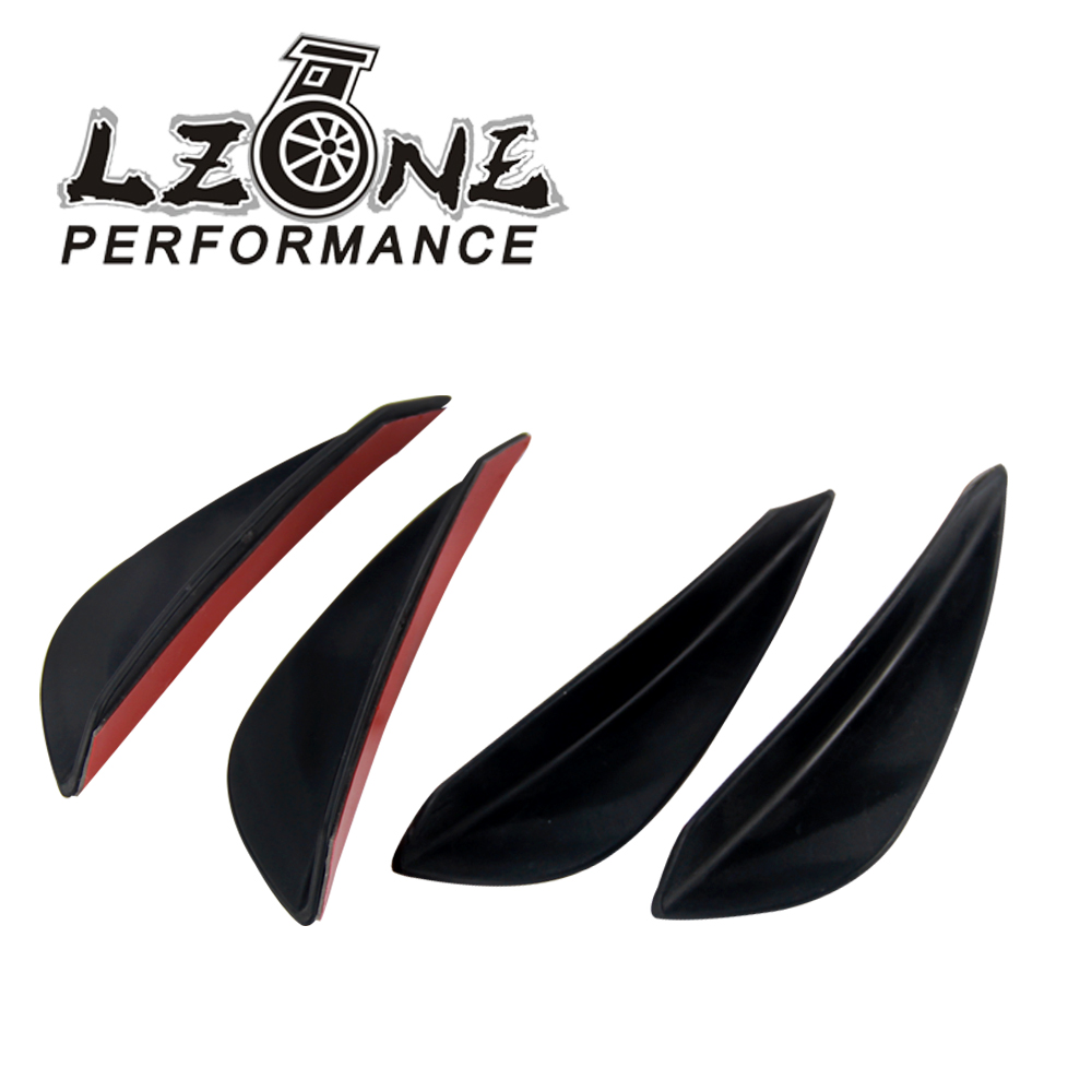 Carbon Fiber SunAngel Universal Carbon Fiber Front Bumper Spoiler Kit,Front Bumper Lip Splitter Spoiler Side Skirt for Car DIY Decoration Refit