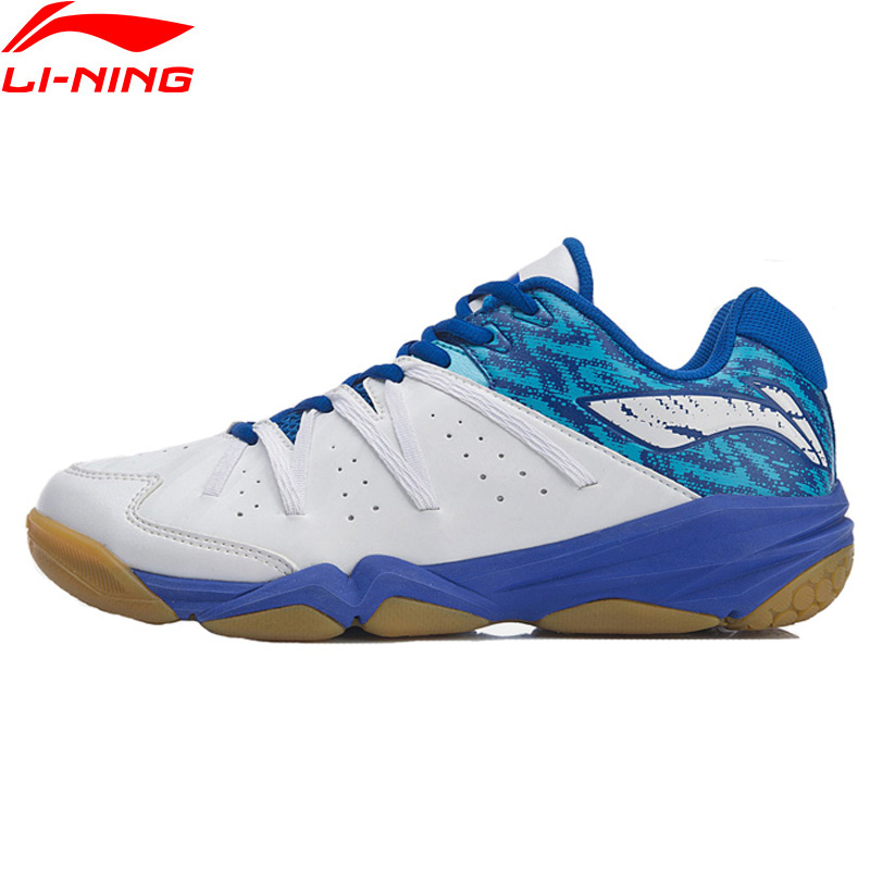 Li Ning Men ACC 19V2 Badminton Shoes Wearable Anti Slippery LiNing Fitness Sport Shoes Sneakers AYTP017