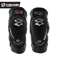 Cuirassier K08 Motorcycle Knee Pads Motocross Knee Protector Guards MTB Protective Kneepad Moto Knee Brace Support Gear