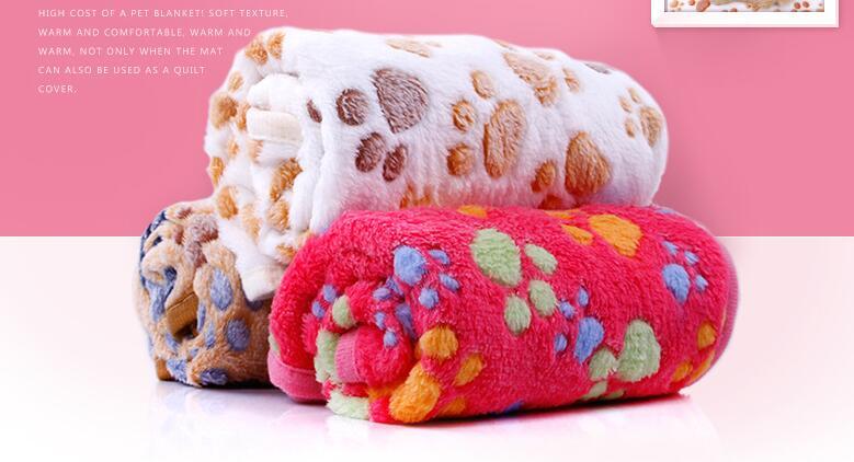 Deka pro psy, Kennel Pad, Teplá deka, Coral Fleece