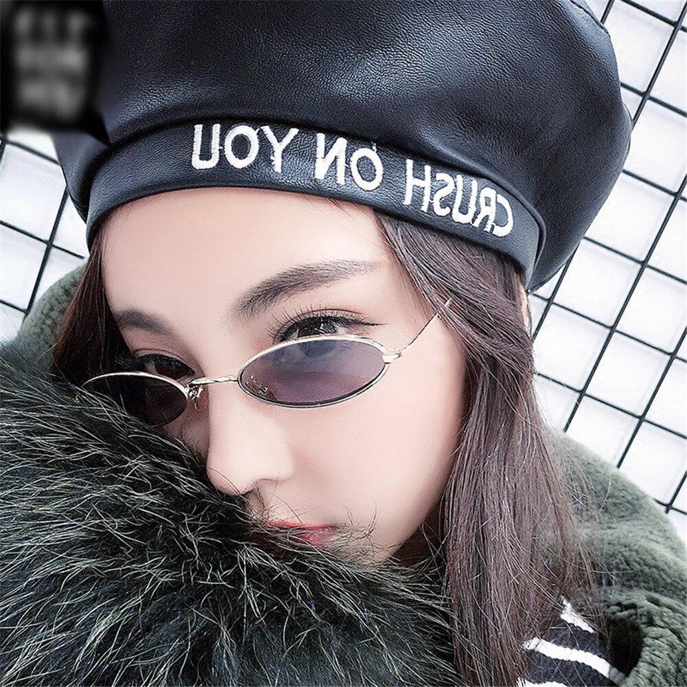 Womens Sunglasses Retro Small Oval Sunglasses Metal Frame Shades Eyewear Glasses For Female gafas oculos des lunettes #15
