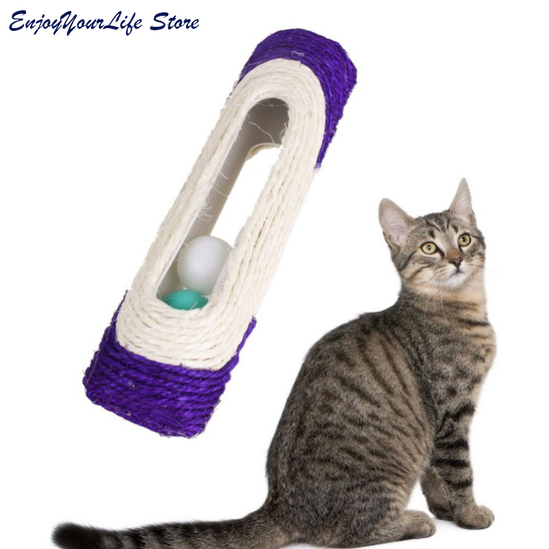 Pet Tunnel with Ball Cat Play Tunnel Funny Cat Long Tunnel Kitten Play Toy Bulk Animals  ...