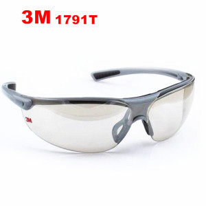 Image 1 - 3M 1791T Silver reflective lens Goggles Indoor Outdoor Sports Bicycle Anti UV Anti Shock Glasses Anti dust Safety Goggles