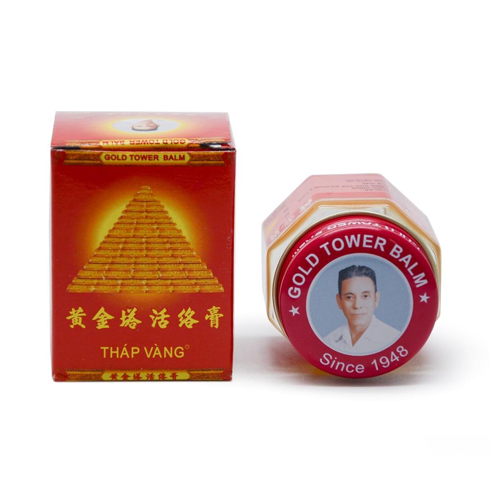 100% Original Vietnam Gold Tower Balm Salve Pain Relieving Patch - Sundhedspleje - Foto 2